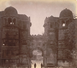Gateway in the Fort at Gwalior